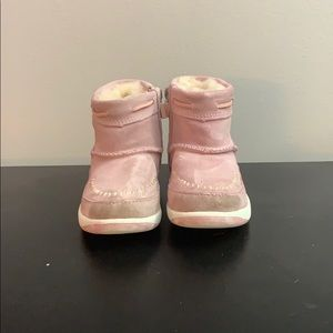 Pink toddler ugh boots size 10